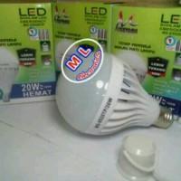 Lampu Bohlam LED Emergenci.20W Mitsuyama / Supr Terang Brkualitas