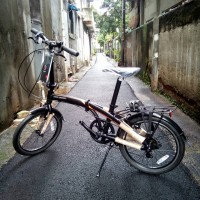 "Sepeda Lipat Polygon 20"" URBANO 3.0 Seri PA"