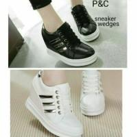 harga Sepatu Wanita Murah Sepatu Kets Sneakers Wedges High Heels Boot Cewek Tokopedia.com