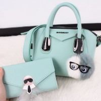Givenchy Antigona Nilo Full Colours Gunmetal Blavkhardware (w)