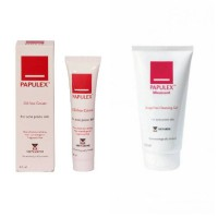 Papulex 2in1 Moussant Cleansing Gel+Oil Free Cream/Sabun&Pelembab Acne