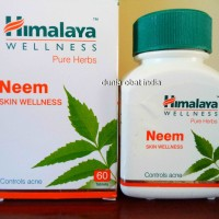 Obat Jerawat - Kapsul Herbal Neem Asli Himalaya