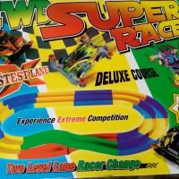 Track Tamiya 2 Jalur 4WD Super Racer Warna Warni