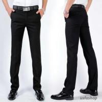 Jual Celana Panjang Formal Slimfit / Kerja / Kantor Slim Fit Pria / Bahan Murah