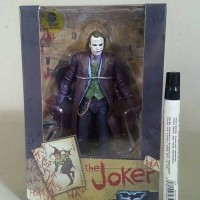 mainan action figure Neca joker Tinggi 7 inch Full artikulasi