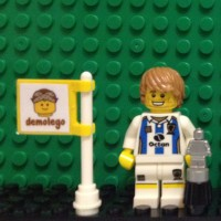 Lego Original Minifigure Soccer Player Football Sepak Bola Series 4