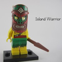 Lego Original Minifigure Tiki Island Warrior Series 11