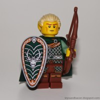 Lego Original Minifigure Elf Forest Maiden Series 3
