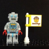Lego Original Minifigure Clockwork Robot Series 6