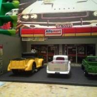 diorama alfamaret 64
