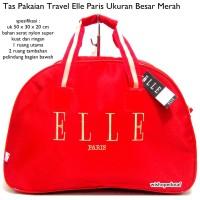 tas travel handbag elle merah