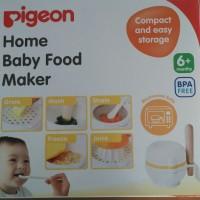 Pigeon Home Baby Food Maker Peralatan MPASI Paket Pembuat Perlengkapan