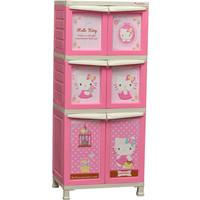 harga Napolly Lemari Plastik 6 Pintu Karakter Hello Kitty Bcbc Xx2 Ktsh Tokopedia.com