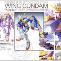 MG 1/100 Wing Gundam XXXG-01W ver. Ka