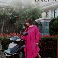 harga Jas Hujan Poncho Tangan FL-8022 bahan Parasut Tokopedia.com