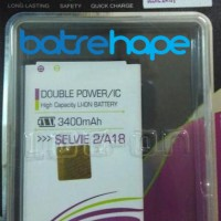 Baterai Double Power Log-on Logon Mito Fantasy Selfie 2 A18