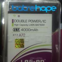 Baterai Double Power Log-on Logon Mito Fantasy Fly A72 ( BA-00099 )