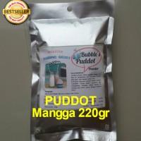 MANGGA Bubble's PUDDOT Premix 220gr Puding Sedot,Bubuk Powder Puddot
