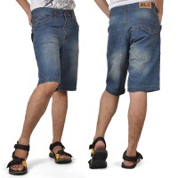 Harga celana pendek jeans pria alx 730 java | WIKIPRICE INDONESIA