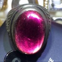 harga Cincin Titanium Tanam Batu Kecubung Wulung Hq Tokopedia.com