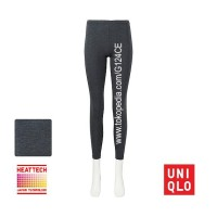 CELANA LONGJOHN WANITA UNIQLO HEATTECH WOMEN LEGGING 172177 DARK GRAY