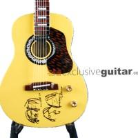 harga Miniatur Gitar Acoustic Gibson J-160E John Lennon Tokopedia.com