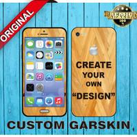 Garskin HP Semua Tipe. Desain Sendiri (Custom)