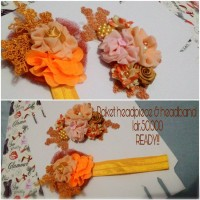 headpiece hijab / headband baby murah