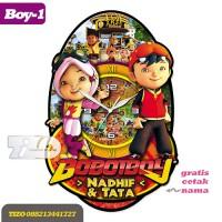 Jam Dinding Unik Karakter Yaya & Boboiboy