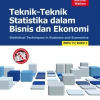 Teknik-Teknik Statistika Dalam Bisnis & Ekonomi/Lind, Marchal, Wathen