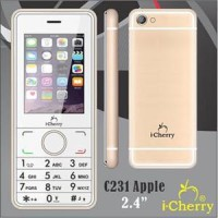 harga Hp I-cherry C231 Apple Candybar 2.4