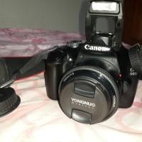 harga Kamera Dlsr Canon 1100D Fullefek Lensa Fix 50mm Tokopedia.com