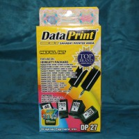 "Data Print Refill Kit DP 27 Black ""HP"" (Tinta Suntik Printer)"