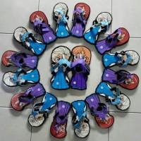 sandal sendal karakter sancu lucu frozen jepit dewasa anak