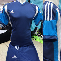 Setelan Jersey Bola Futsal Lokal Polosan Adidas Argentina 2 Dongker