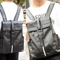 Tas ransel sekolah kuliah kerja pria wanita tas back bodypack laptop