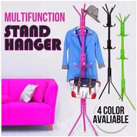 Jual Stand Hanger / Gantungan Tiang Berdiri / Hanger Gantungan Baju Tas Murah