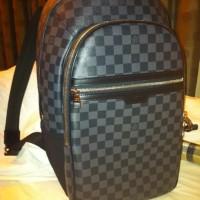 Jual Tas Ransel LV Louis Vuitton Michael Backpack Damier Graphite