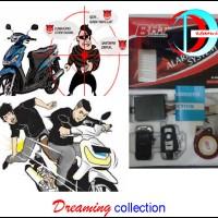 Alarm Motor BHT Bohante + Remote, Anti Maling & Anti Rampas Dijalan