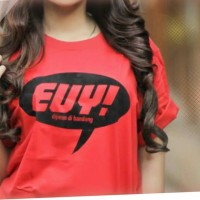 Tshirt / Kaos / Baju EUY - MERAH