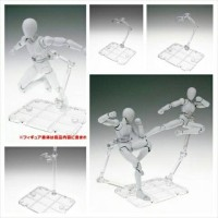 Action stand Base gundam SHF figure 1/144 HG RG clear