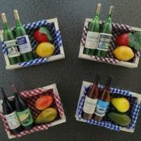 Magnet Kulkas seri botol wine ada 5 model