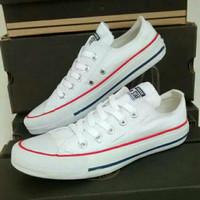 Sepatu Casual Converse For Man Warna Putih u/ pria wanita unisex casua