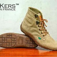 Sepatu Boots Kickers Kerja Pria Semi Boot u/ pria wanita unisex casual