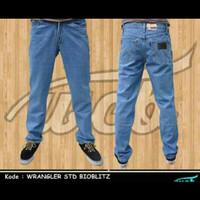Celana Jeans Wrangler Standard Bioblitz Size 33-38 murah keren gaul ba