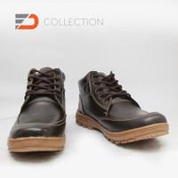 Sepatu Casual Boot Bahan Kulit Sapi Asli S. 02 u/ pria wanita unisex c