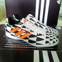 Sepatu Futsal Adidas Battlepack Zebra Original 100% Indonesia u/ pria