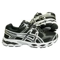 Sepatu Running Sport Asics Gel Cumulus 16 Hitam Pria Import Murah (Sep
