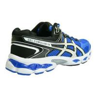 Sepatu Running Sport Asics Gel Cumulus 16 Biru Pria Import Murah (Sepa