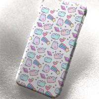 Custom Case pusheen cat cute iphone samsung galaxy casing bb htc
